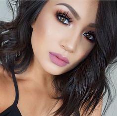... Makeup Art, Makeup Tips, Beauty Makeup, Eye Makeup, Hair Beauty, Brunette Makeup, Dark Brunette, Brunette Hair, Beauty Youtubers