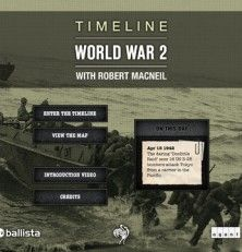 Timeline World War 2--age 12+ history when they are older