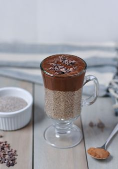 Paleo Chocolate Chai Chia Seed Pudding -  perfect as a healthy, delicious and satisfying breakfast, snack or dessert l www.themodernbuttery.com