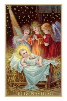 Three Angels with Christ Child