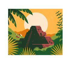 Target coffee packaging Tom Haugomat - Handsome Frank Illustration Agency