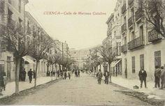 Calle de Mariano Catalina.. Cuenca