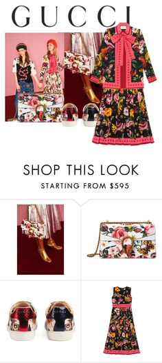 """""""Presenting the Gucci Garden Exclusive Collection: Contest Entry"""" by georgiafaithsetiawan06 ❤ liked on Polyvore featuring Gucci and gucci"""