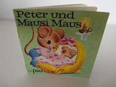 pixi Buch Nr. 53 Peter und Mausi Maus  PIXI-Serie von THEoldSTAMP