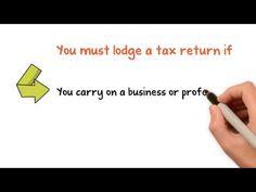 Do you need to lodge a tax return?