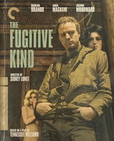 The Fugitive Kind (The Criterion Collection) [Blu-ray] Netflix Help, Good Movies On Netflix, Maureen Stapleton, Anna Magnani, Joanne Woodward, The Criterion Collection, Tennessee Williams, Marlon Brando, Storytelling