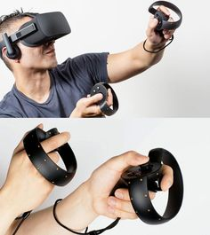 """The Oculus Touch will give VR users the ability to have """"hand presence"""" to manipulate objects in virtual reality."""