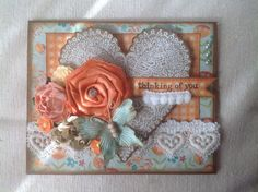 """Thinking of You"" Handmade Card"