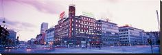 Evening, Radhuspladsen, Copenhagen, Denmark Photographic Print