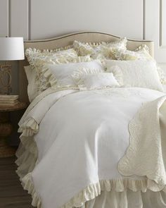 """Celeste"""" Bed Linens by Pom Pom at Home at Horchow."""