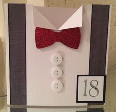 Personalised handmade birthday card  for men/dad by NicelyGifted