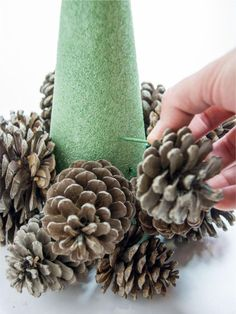 Make a simple pine cone tree with HGTV Gardens. Make a simple pine cone tree with HGTV Gardens. Make a simple pine cone tree with HGTV Gardens. The post Make a simple pine cone tree with HGTV Gardens. appeared first on Warm Home Decor. Pine Cone Tree, Pine Cone Christmas Tree, Cone Trees, Tabletop Christmas Tree, Christmas Tree Crafts, Rustic Christmas, Simple Christmas, Christmas Christmas, Primitive Christmas