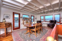 Real estate find of the week! Historic houseboat in Sausalito, California. | Coastalliving.com