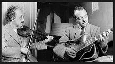 Albert Einstein et Django Reinhardt, Princeton, Dimanche 15 Septembre 1946.