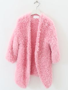 Pink Fluffy Jacket | Outdoor Jacket