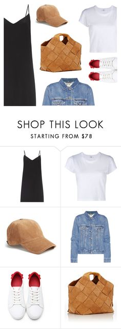 """""""Slip on"""" by freddarling ❤ liked on Polyvore featuring Raey, RE/DONE, rag & bone, Acne Studios and Loewe"""