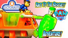 THE OCTONAUTS & PAW PATROL TOY TIME TV ADVENTURES - Batman Saves The Sea...