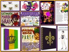mardi gras games and activities for adults | Mardi Gras Party Fun and Games
