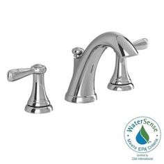American Standard Marquette 8 in. Widespread 2-Handle High-Arc Bathroom Faucet in Polished Chrome - 7768F - The Home Depot
