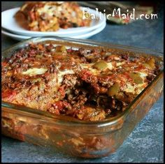 Caribbean Plantain and Meat Casserole. I love plantains and I love meat...so what could go wrong here? looking forward to trying this one. :)