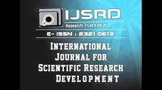 Please find some useful information to know more about #IJSRD For more detailed information please visit www.ijsrd.com