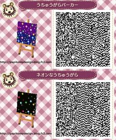 "qr-closet: "" space patterns """