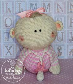 Twins crochet pattern by JulioToys on Etsy https://www.etsy.com/listing/386880492/twins-crochet-pattern