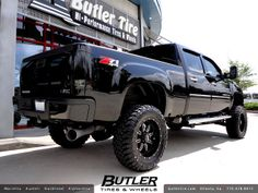 gmc 2500 hd denali | GMC Denali 2500 HD with 20in Gear 725 Wheels and 6in Pro Comp Lift ...