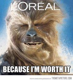 Fabulous Chewie…