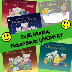 Win Jill Murphy Picture Books in the October Giveaway Jill Murphy, Large Family Pictures, Kids And Parenting, Competition, Picture Books, Giveaways, Blog, October, Posts