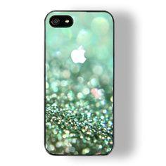 iphone 5 case iphone 4 case iphone 4s case - sparkle iphone 5 case glitter iphone 4 case cover. $14.79, via Etsy.