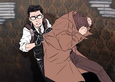 Sebastian and Joseph - The Evil Within Fan Art I think this is from one of those haunted house jumpscare moments