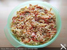Gabelspaghettisalat