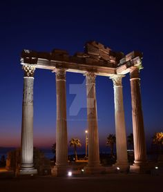 Apollon Temple Side TURKEY by beardbeastie.deviantart.com on @DeviantArt