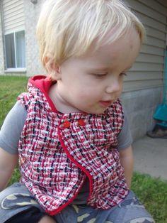 (9) Name: 'Sewing : Woollen Vest PDF pattern and tute 1-6y