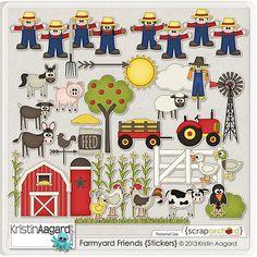 Digi Delights: Farmyard Friends