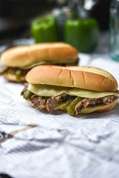 Philly Cheesesteak Sandwiches | Gringalicious