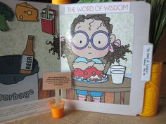 Word of Wisdom FHE Kit (G): Read and talk about D 89.  Help the girls make a Word of Wisdom folder game to share with their families at Family Home Evening.  One idea can be found at http://www.mmprintables.com/2013/02/word-of-wisdom-printable-file-folder.html (April 5, 2013).