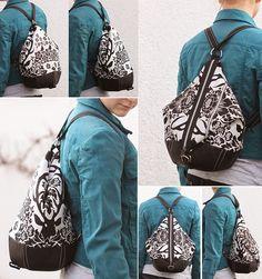 machwerk: Eine Rucksack wird zur Tasche. Und wie es dazu gekommen ist.