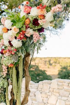 Wine + Peach + White + Green Wedding Arch for Outdoor Ceremony Fall Wedding Colors, Wedding Flowers, Barn Wedding Inspiration, Wedding Ideas, Wedding Ceremony, Outdoor Ceremony, Wedding Bride, Reception, Floral Arch