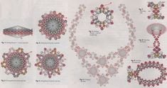 Оплетение камня риволи происходит точно так же, как и оплетение кабошона.