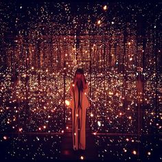 Fireflies on the Water by Yayoi Kusama at The Whitney Museum in NYC @Whitney Clark Museum