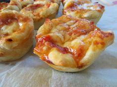Gunns momsemat: Mini-pizza med spekepølse