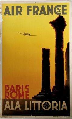 old-poster-air-France-22