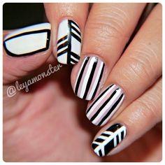Instagram photo by leyamonster  #nail #nails #nailart