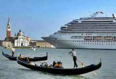 Venice Ban the big cruise liners.