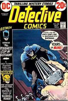 #428 Detective Comics. The cop with two right hands.