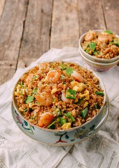 Shrimp Fried Rice was one of the most popular fried rice dishes in my parents' Chinese takeout restaurant. People would order Shrimp Fried Rice by the quart, and it seemed like we were always peeling shrimp to keep up with demand. So popular was the dish that we pre-boiled 10 pounds at a time! As …