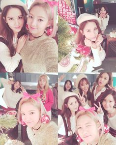 HyoYeon shared adorable photos with her fellow SNSD members
