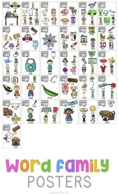 Phonics Posters for Primary Students - Education to the Core First grade teachers know how important it can be to have visual cues in a classroom full of emergent readers. I created these Phonics Posters Phonics Reading, Teaching Phonics, Phonics Activities, Teaching Reading, Guided Reading, Phonics Chart, Phonics Flashcards, Alphabet Phonics, Primary Education Degree